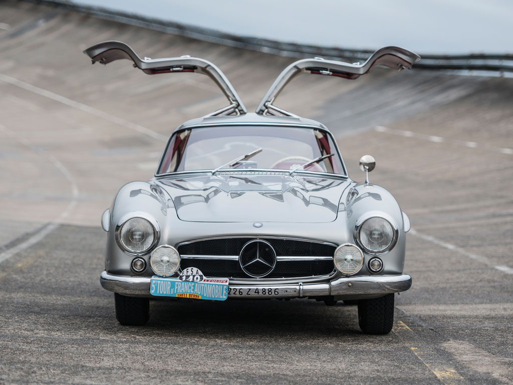For sale the mercedes benz 300 sl gullwing race car of for Mercedes benz race cars